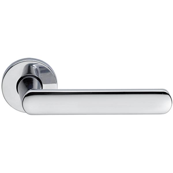 Дверная ручка Extreza Hi-tech «AQUA» (Аква) 113 R12 полированный хром F04
