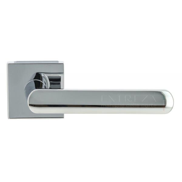 Дверная ручка Extreza Hi-tech «AQUA» (Аква) 113 R11 полированный хром F04