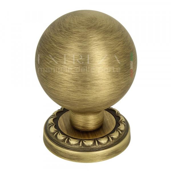 Дверная ручка-кноб Extreza TONDO R02 матовая бронза F03 (1шт.)
