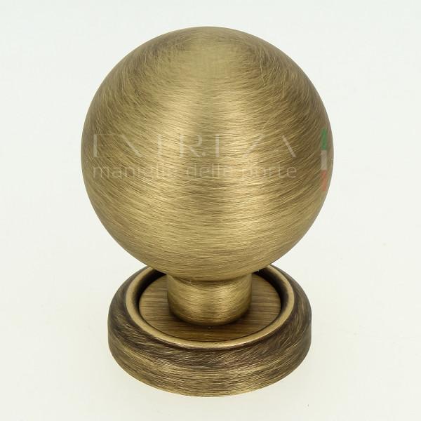 Дверная ручка-кноб Extreza TONDO R01 матовая бронза F03 (1шт.)